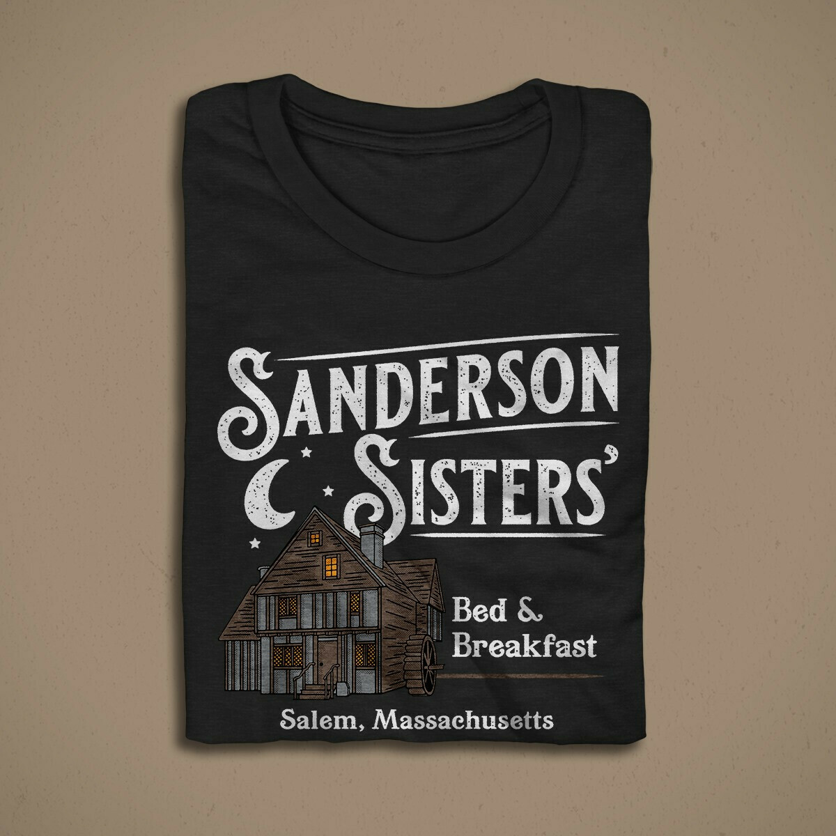 SANDERSON SISTERS' BED & BREAKFAST MEN/UNISEX T-SHIRT