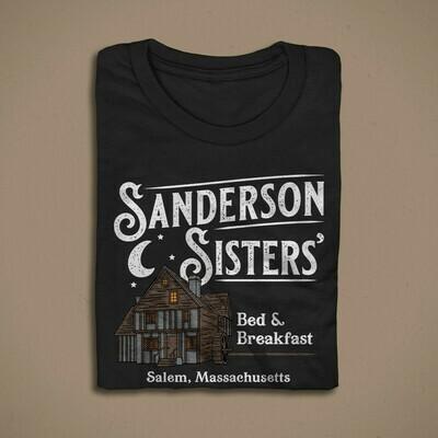 SANDERSON SISTERS' BED & BREAKFAST MEN/UNISEX T-SHIRT