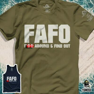 F.A.F.O. Fuck Around And Find Out - Soft Men's T-Shirt