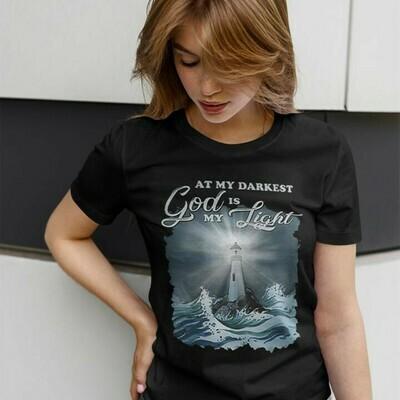Mygearzenk – Official At my darkest God Is my Light shirt