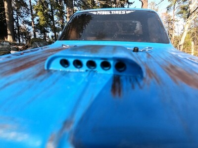 Hood Scoop for RC cars