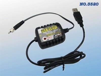 DC USB 1C Ni-Cd/MH GLOW STARTER CHARGER
