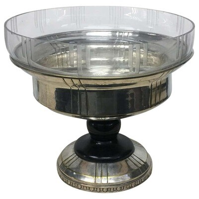 Art Deco Silver Plated French Centerpiece, circa 1930