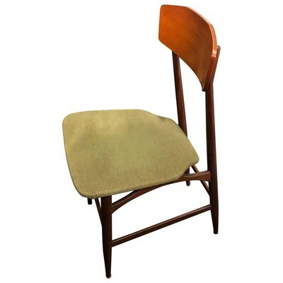 Silvio Cavatorta Attributed Set of Six Mid-Century Modern Chairs, circa 1950