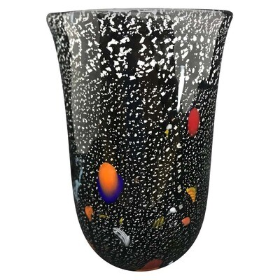 Vintage Murano Glass Vase, Italy, circa 1980