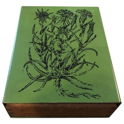 Piero Fornasetti Mid-Century Modern Wood and Metal Box, circa 1960