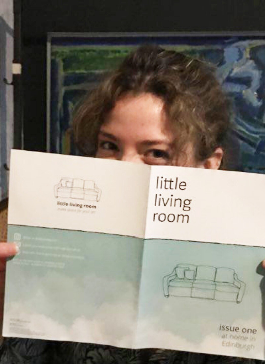 'little living room' winter issue 1