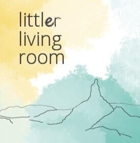 digital littler living room 001 (mini zine)