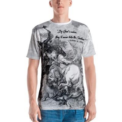 The Battle of Jaffa - Men's Wrap-Around T-shirt