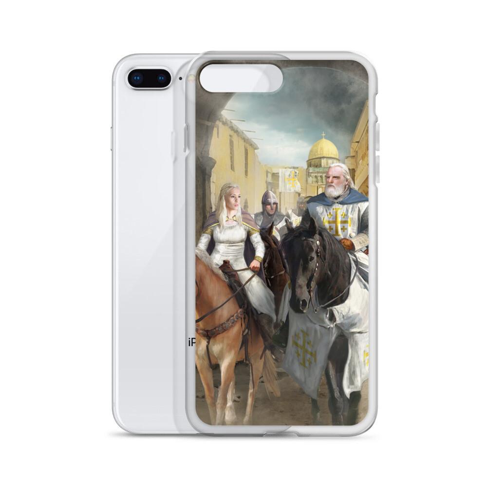 King Baldwin II and Princess Melisende iPhone Case