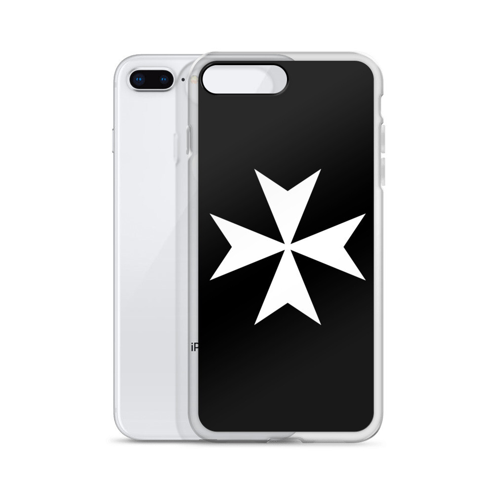 Knights Hospitaller Maltese Cross iPhone Case