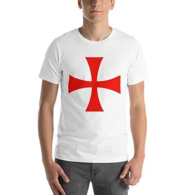 Knights Templar Cross - Short-Sleeve Unisex T-Shirt