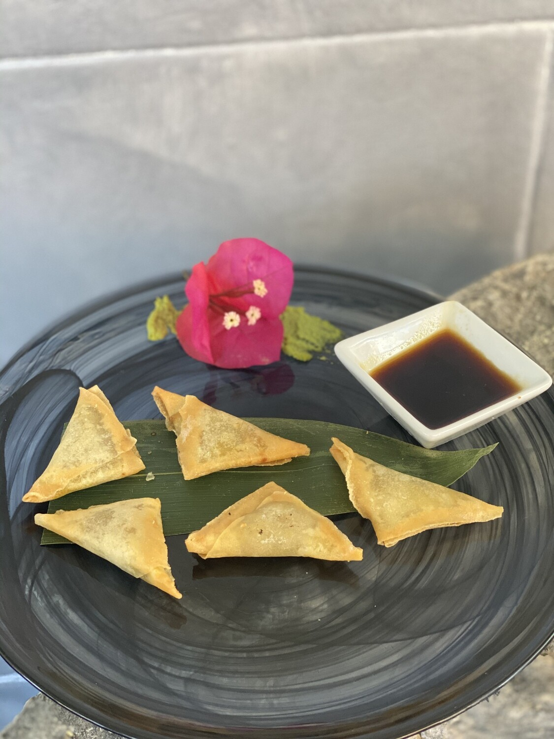 Samosa Di Verdure Al Curry