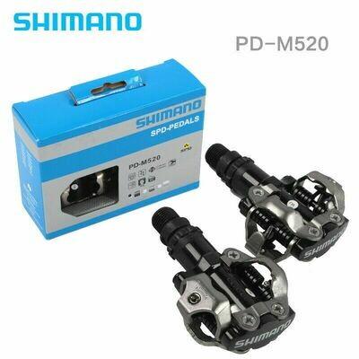 SHIMANO PD-M520 MTB PEDALS BLACK