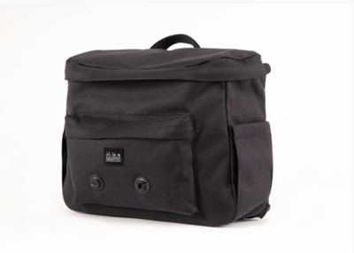 METRO BACKPACK M, BLACK, WITH FRAME
