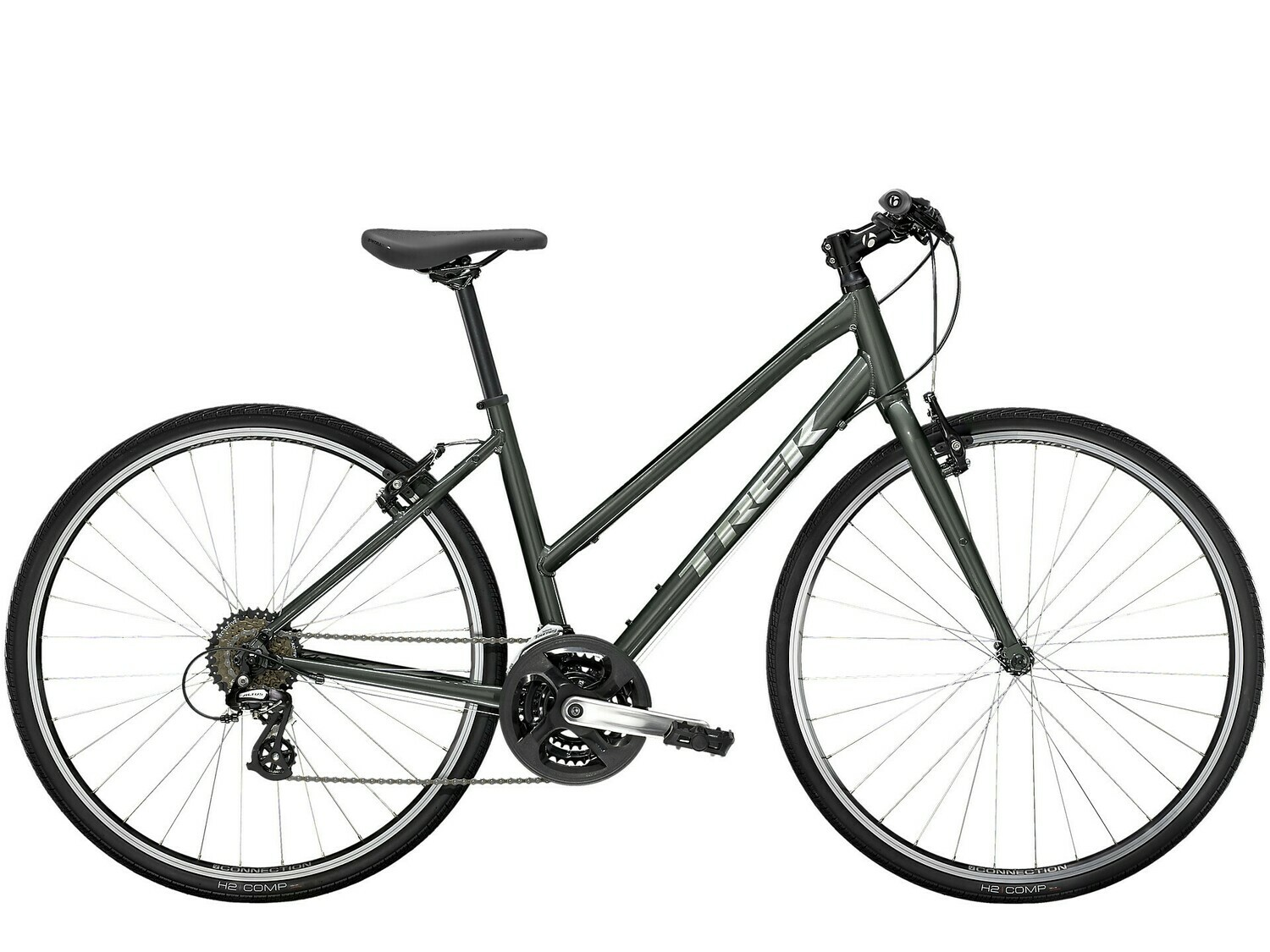 2021 TREK FX 1 STAGGER LADIES HYBRID - LARGE