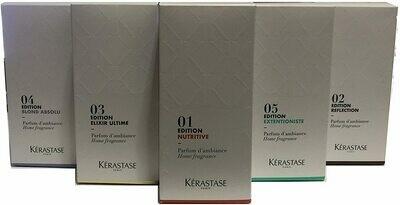 Kerastase set 5 Profumi Ambiente 200ml Edizione 2020 con Stecche in Fibra Profumazione Delicata