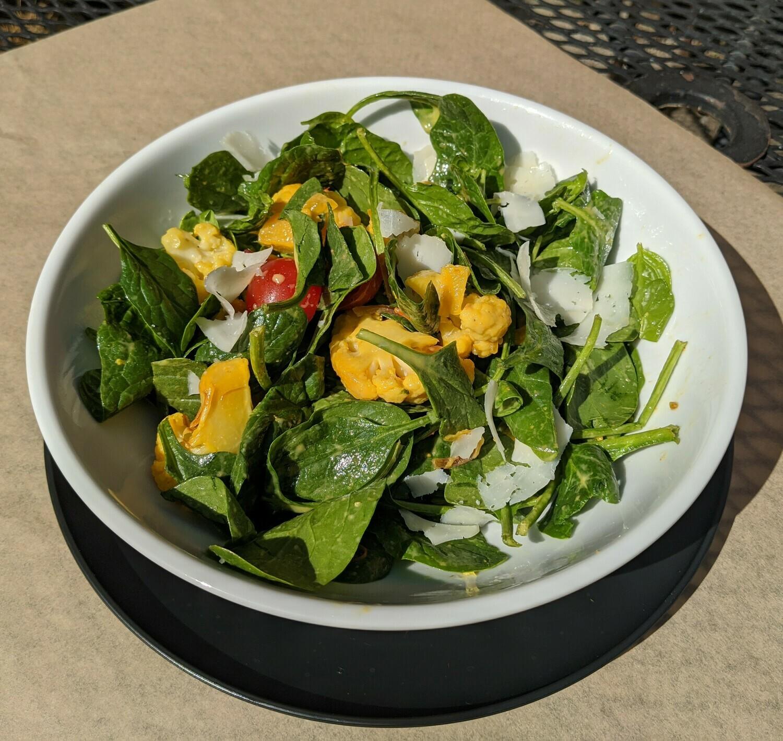 Roasted Cauliflower Salad with Manchego
