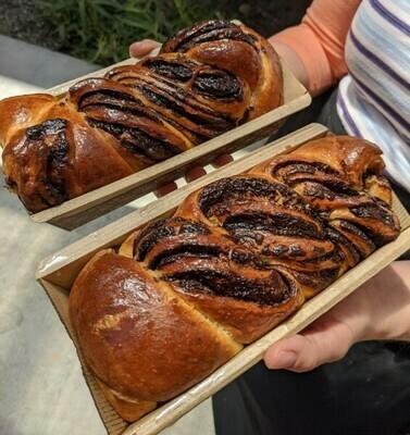 Chocolate Babka (pre-order for Sun 9/27)