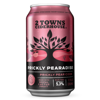 2 Towns Ciderhouse Prickly Pear Cider