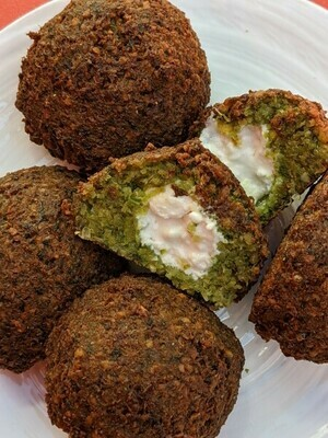 Cheese-Stuffed Falafel (Frozen)