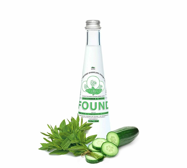 Found Cucumber Mint Sparkling Water