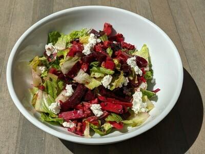 Beet, Romaine & Feta Salad
