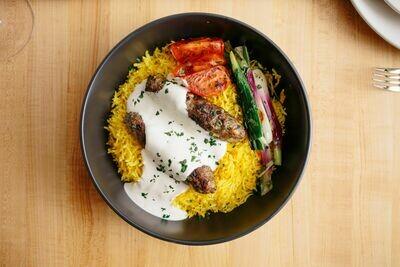 Saffron Rice Plate