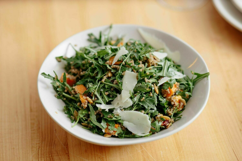 Butternut Squash, Quinoa & Manchego Salad