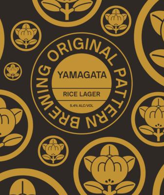 Original Pattern Yamagata Rice Lager