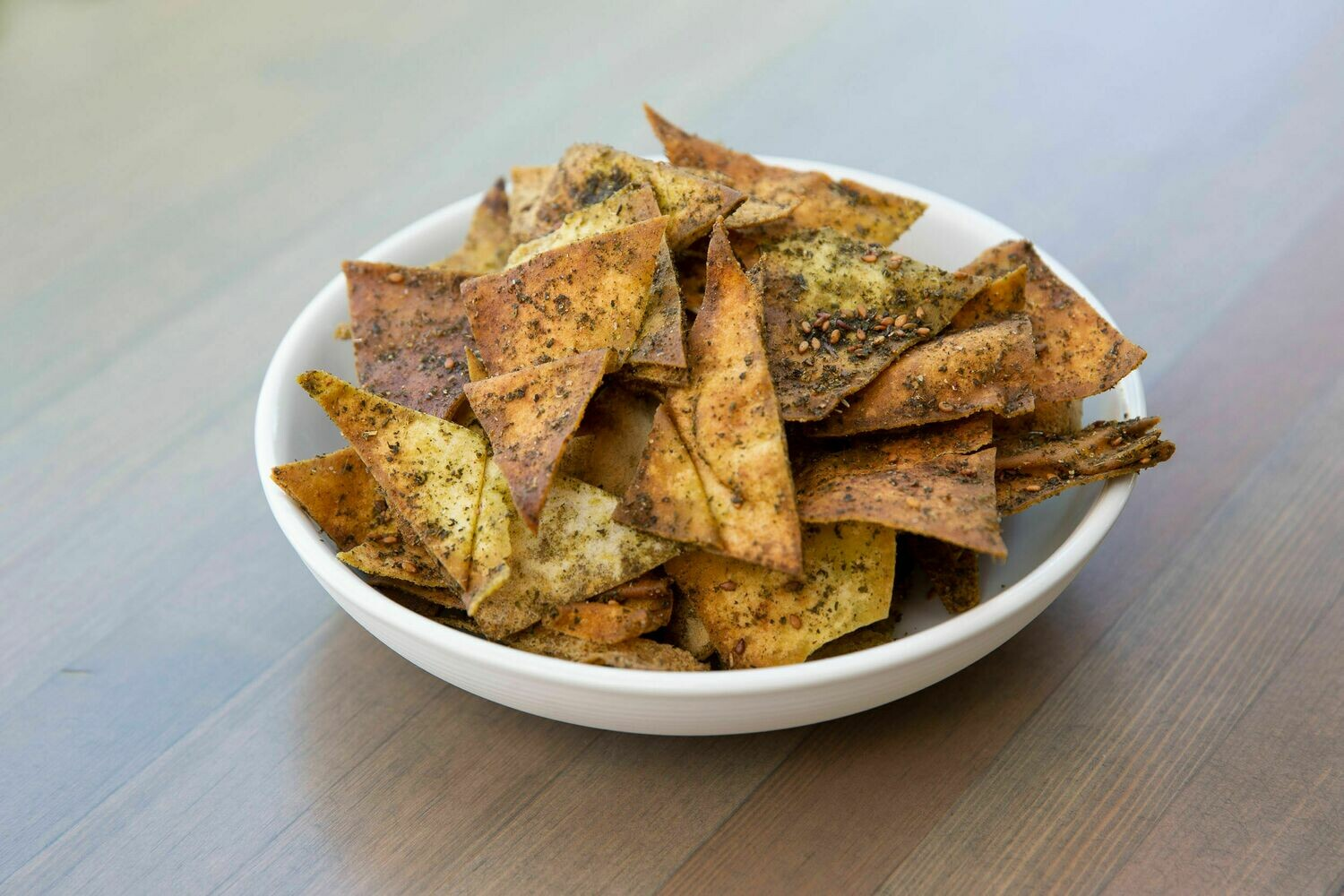 Za'atar-Spiced Pita Chips