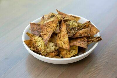 Za'atar-Spiced Pita Chips