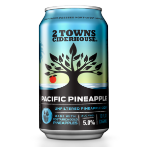 2 Towns Pacific Pineapple Cider