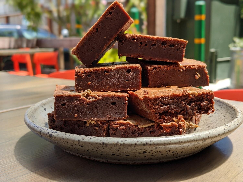 Chocolate-Tahini Brownie