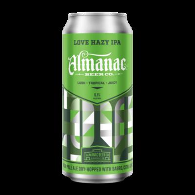 Almanac LOVE Hazy IPA