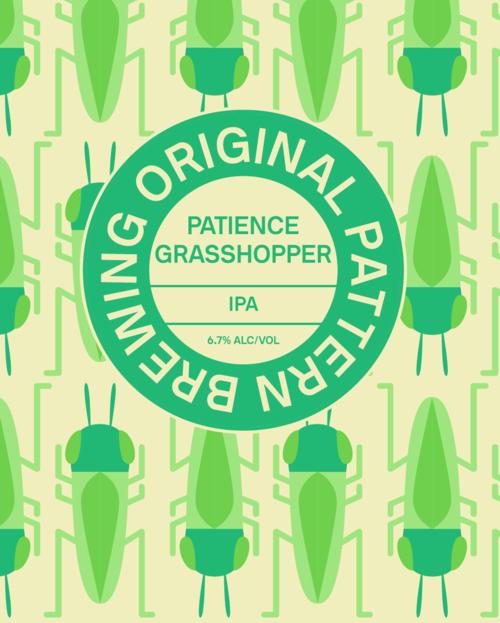 Original Pattern Brewing Company Patience Grasshopper IPA