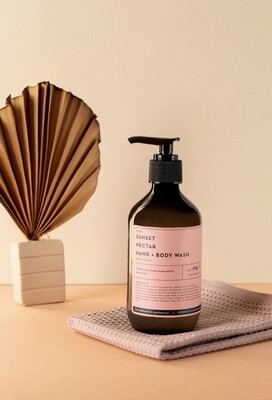 OM Organics - Sunset Nectar Hand + Body Wash