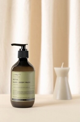 OM Organics - Detox Hand + Body Wash