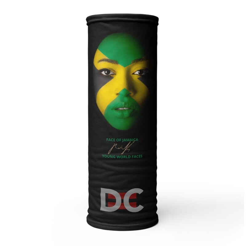 DC=YOUNG WORLD FACES Face Mask (JAMAICA)