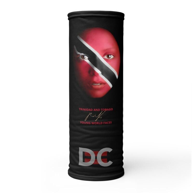 DC=YOUNG WORLD FACES Face Mask (TRINIDAD & TOBAGO)