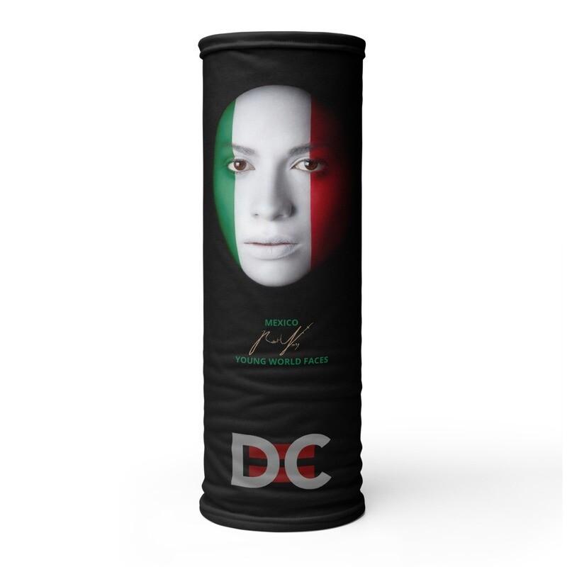 DC=YOUNG WORLD FACES Face Mask (MEXICO)