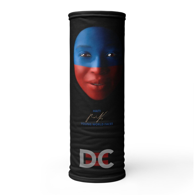 DC=YOUNG WORLD FACES Face Mask (HAITI)