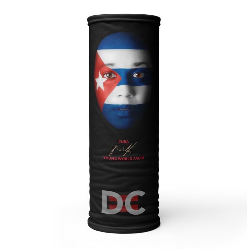 DC=YOUNG WORLD FACES Face Mask (CUBA)