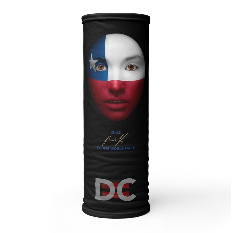 DC=YOUNG WORLD FACES Face Mask (CHILE)