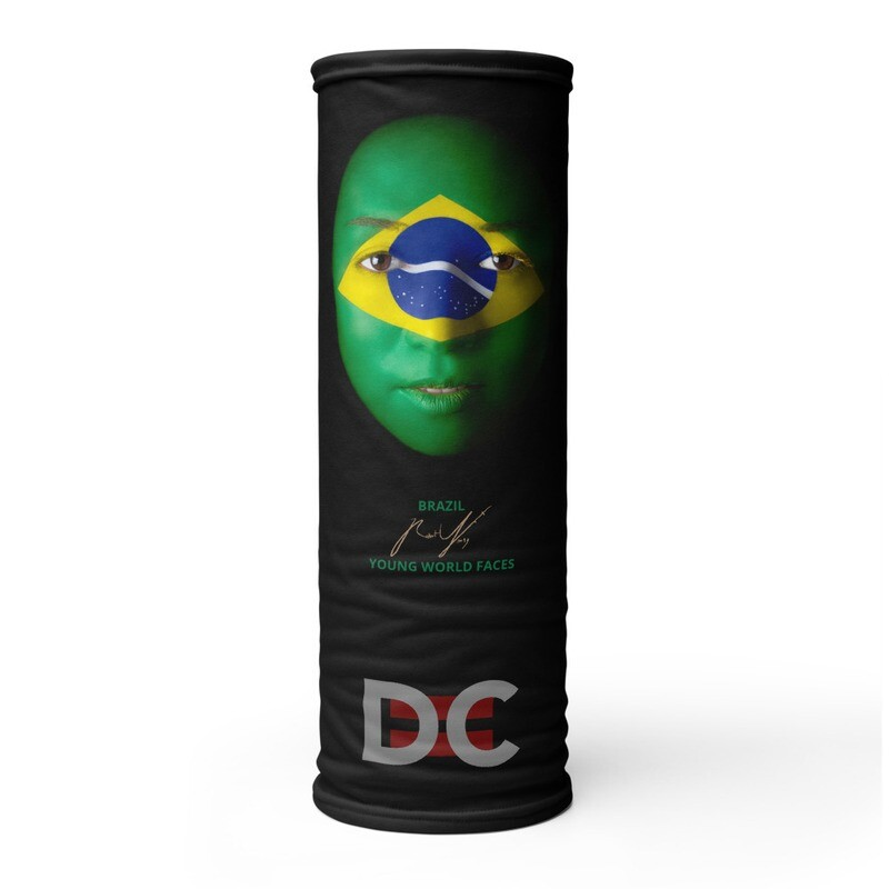 DC=YOUNG WORLD FACES Face Mask (BRAZIL)