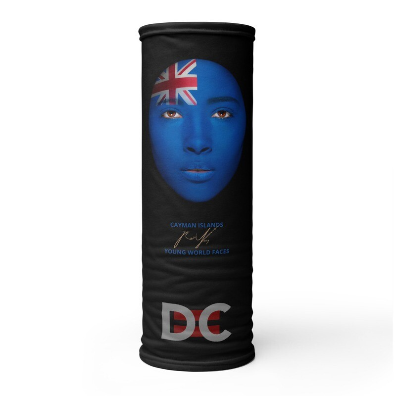 DC=YOUNG WORLD FACES Face Mask (CAYMAN ISLANDS)