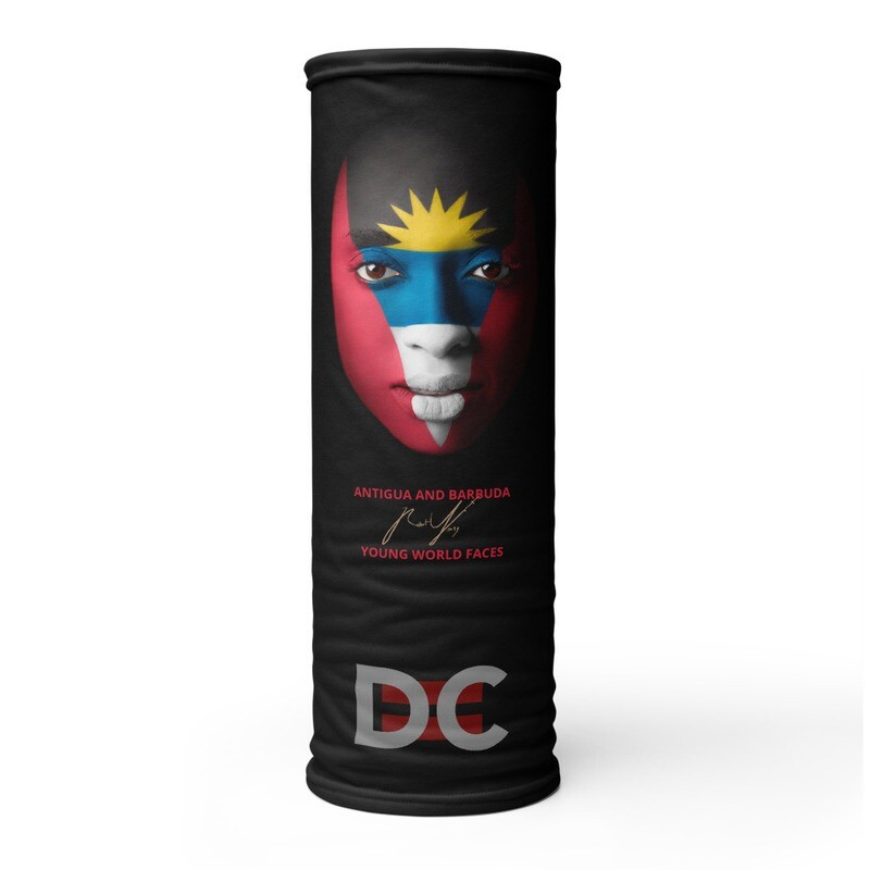 DC=YOUNG WORLD FACES Face Mask (ANTIGUA AND BARBUDA)
