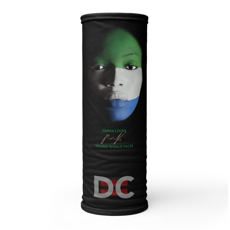 DC=YOUNG WORLD FACES Face Mask (SIERRA LEONE)