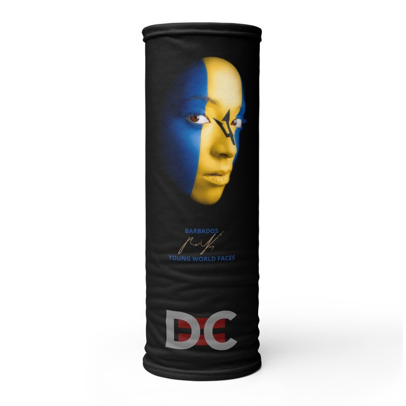 DC=YOUNG WORLD FACES Face Mask (BARBADOS)
