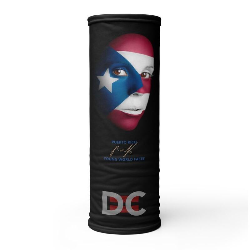 DC=YOUNG WORLD FACES Face Mask (PUERTO RICO)